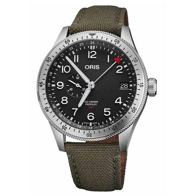 ORIS豪利時 0174877564064-0732202LC / BIG CROWN腕錶 / 44mm