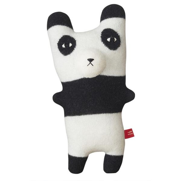 《Donna Wilson》手工針織羊毛娃-熊貓Pia