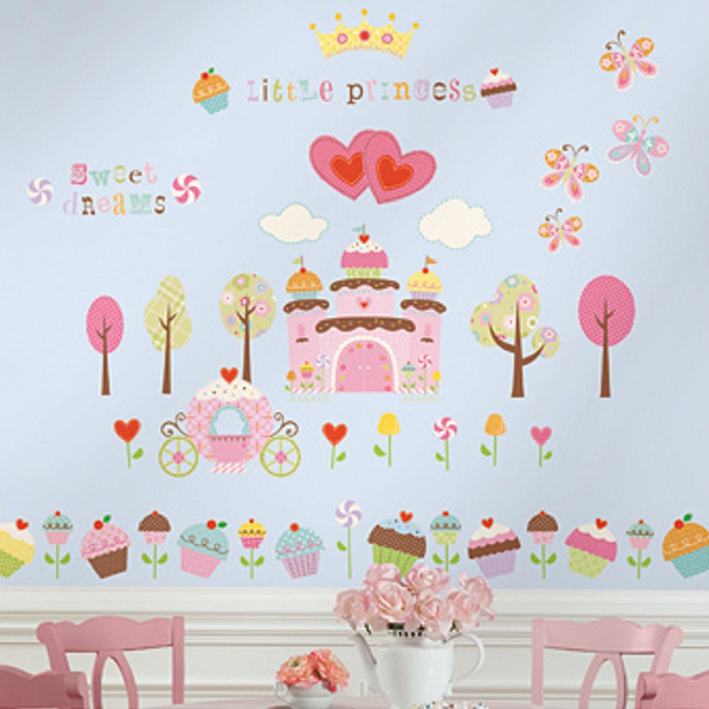 美國Roommates - 美國進口壁貼-蛋糕城堡