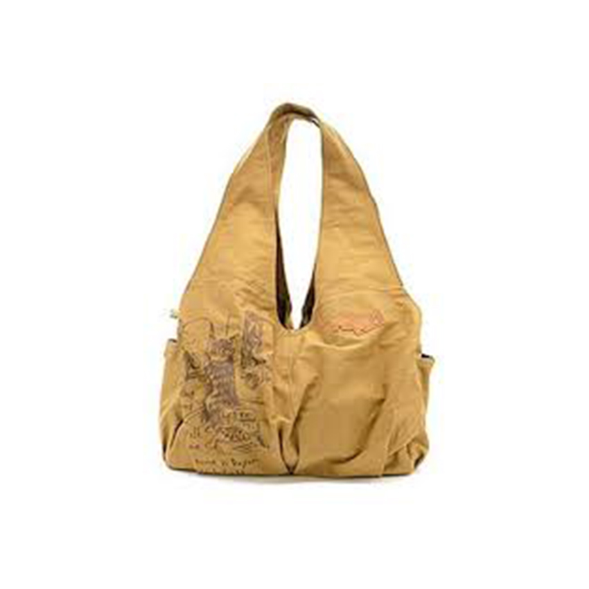 《Dayan 達洋貓》多口袋手提包-米