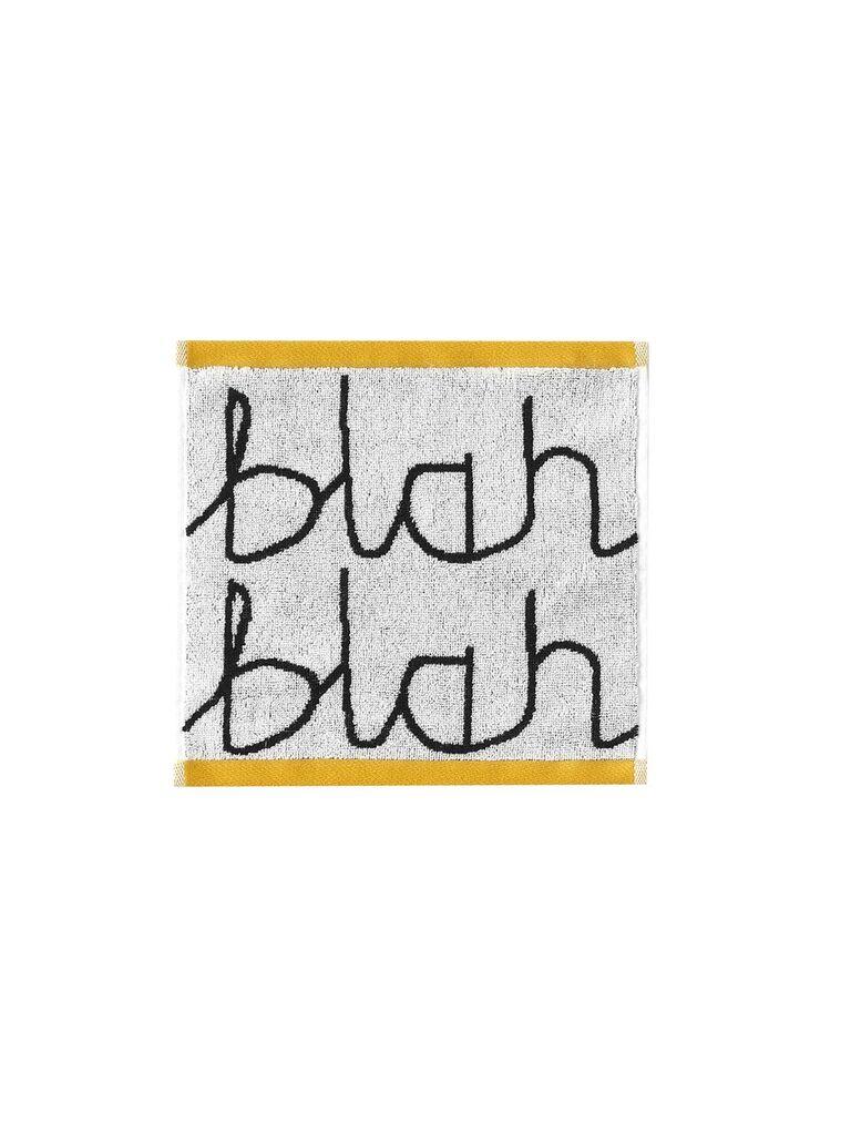 《Donna Wilson》小方巾-Blah Blah(白)