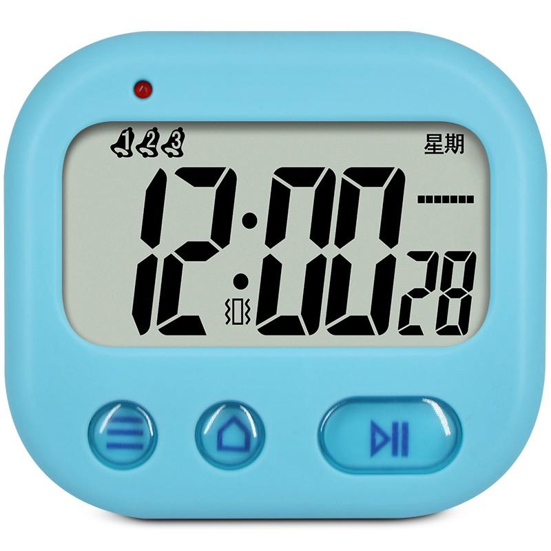 [時鐘]鬧鐘學生宿舍振動鐘夜光提醒自由三組鬧鈴震動無聲鬧鐘計時器
