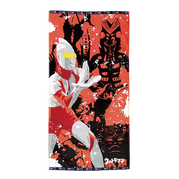 《超人力霸王》浴巾-超級戰鬥