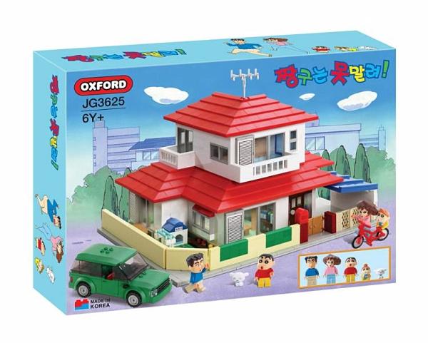 《 OXFORD 積木 》蠟筆小新 小新的家 最後現貨 / JOYBUS玩具百貨