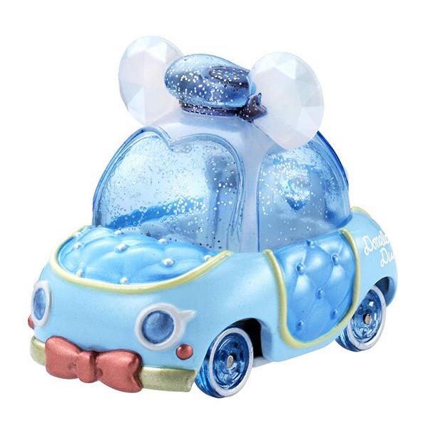 《Disney》Tomica 粉鑽蝴蝶結車-唐老鴨