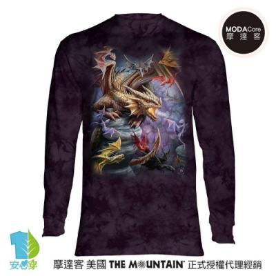 摩達客 預購 美國The Mountain 龍群 純棉長袖T恤