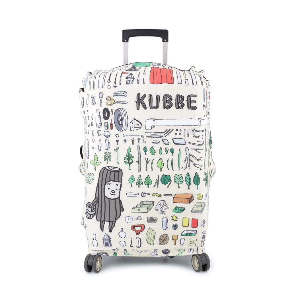 《酷比KUBBE》行李箱套-酷比的博物館(L)