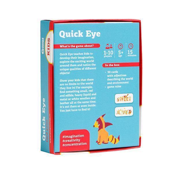 ☆快樂小屋☆【免運】 眼明腦快硬盒版 Quick eye 兒童遊戲 正版桌遊 台中桌遊