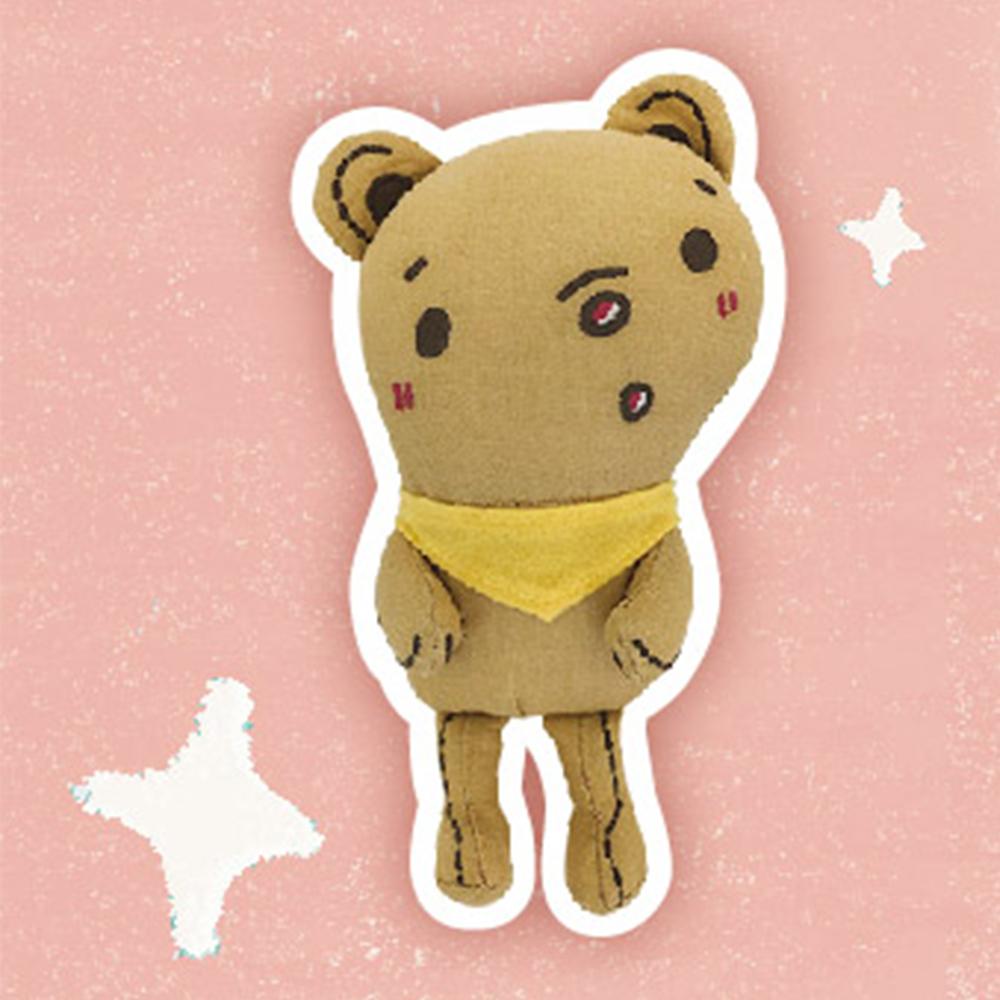 《Foufou》迷你福玩偶-迷你西西熊