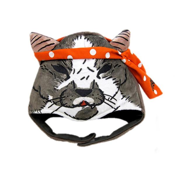 《不可思議的貓世界》造型帽-熊夫
