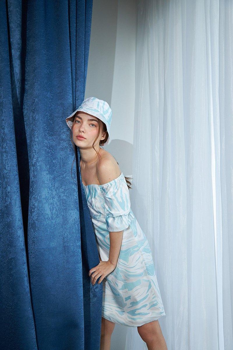 禮服模特MUFFIN DRESS