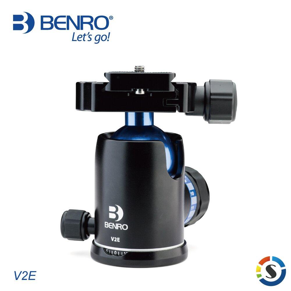 BENRO百諾 V2E 恆定(記憶)阻尼球型雲台