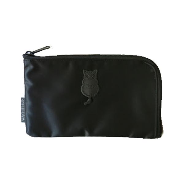 《達洋貓》防潑水收納包-黑