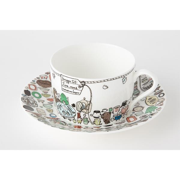 《酷比KUBBE》Noritake聯名午茶杯盤組