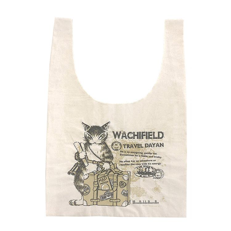 《達洋貓 Dayan》環保袋-旅行的達洋貓
