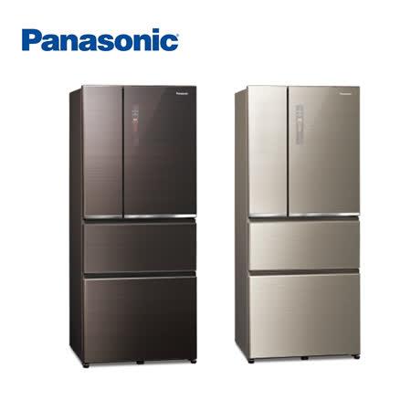 Panasonic 國際牌 610L四門一級能變頻電冰箱NR-D611XGS-含基本安裝