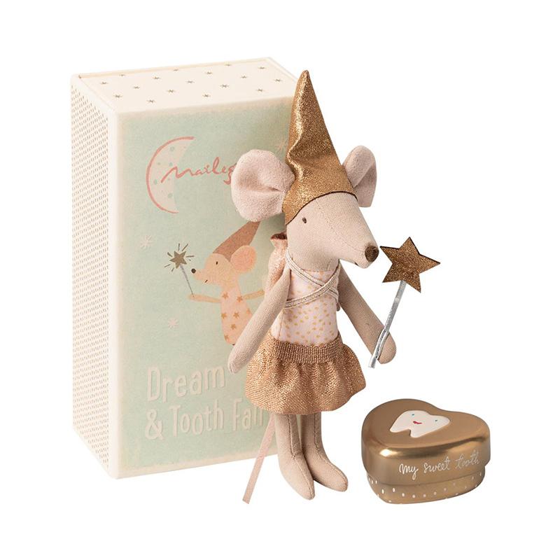 《Maileg》禮盒玩偶-牙仙小鼠姊姊(附盒)