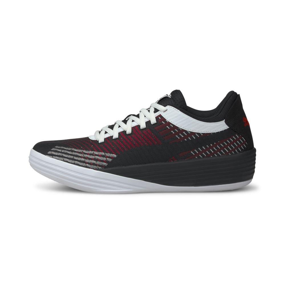 PUMA Clyde All-Pro 男 籃球鞋 白黑紅