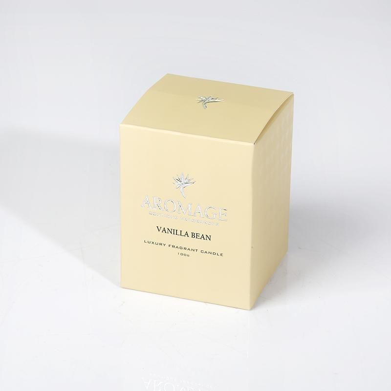 Fragrant Candle- Clear Glass
