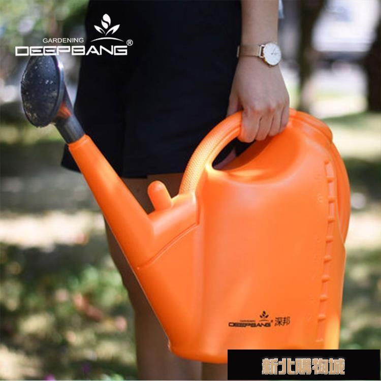 灑水壺大號種菜9升大容量家用澆水壺加厚園藝工具淋水桶澆花噴壺  【新年鉅惠】
