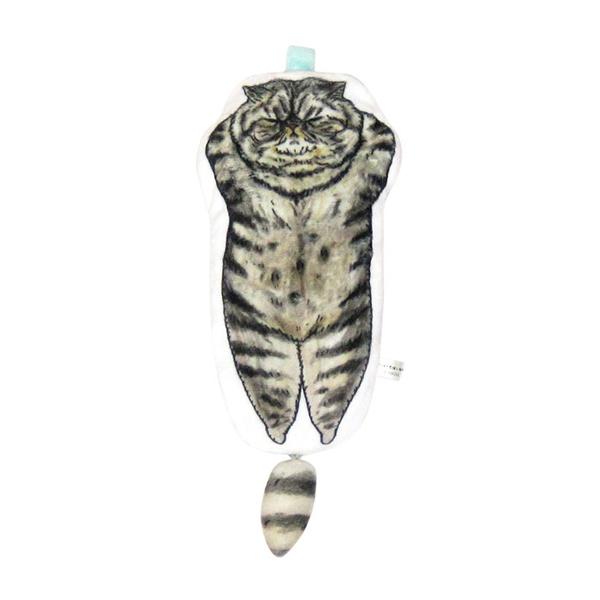 《不可思議的貓世界》造型收納包-黑貓