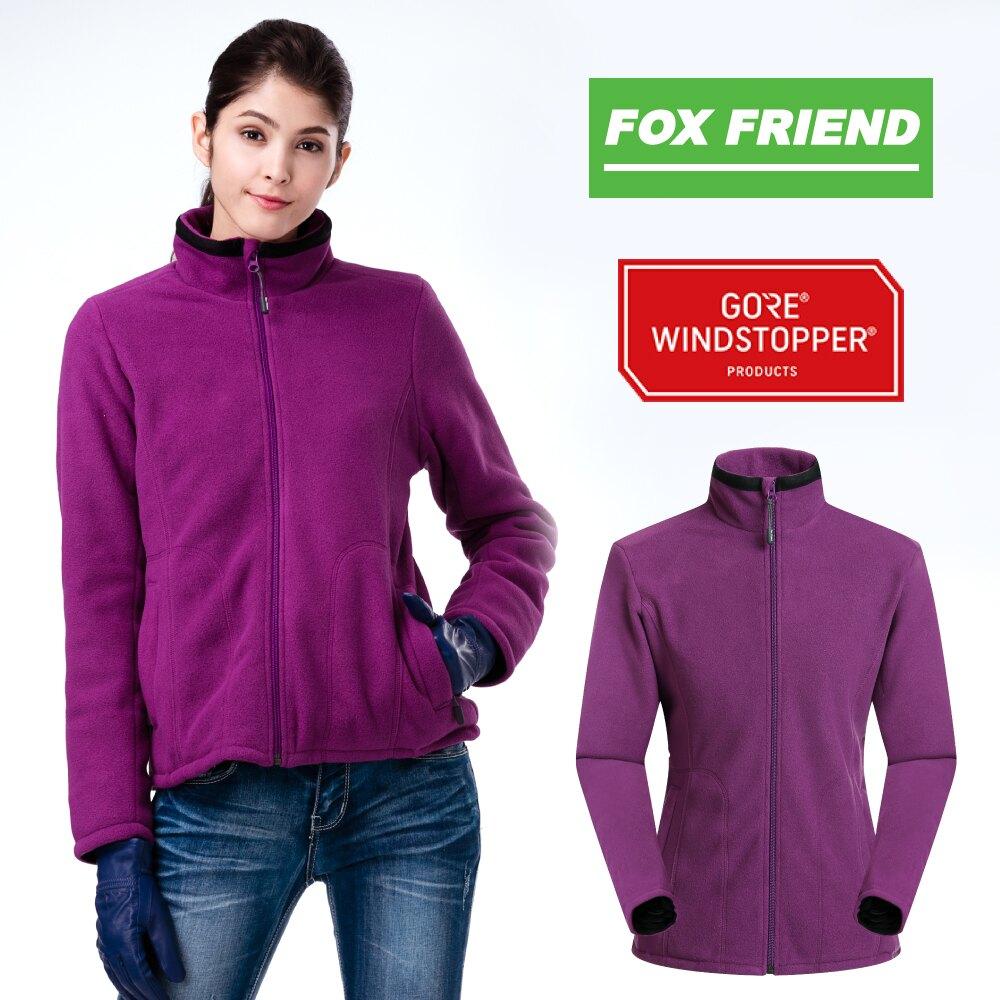 【FOX FRIEND】女款WINDSTOPPER+FLEECE外套/獨有二合一技術