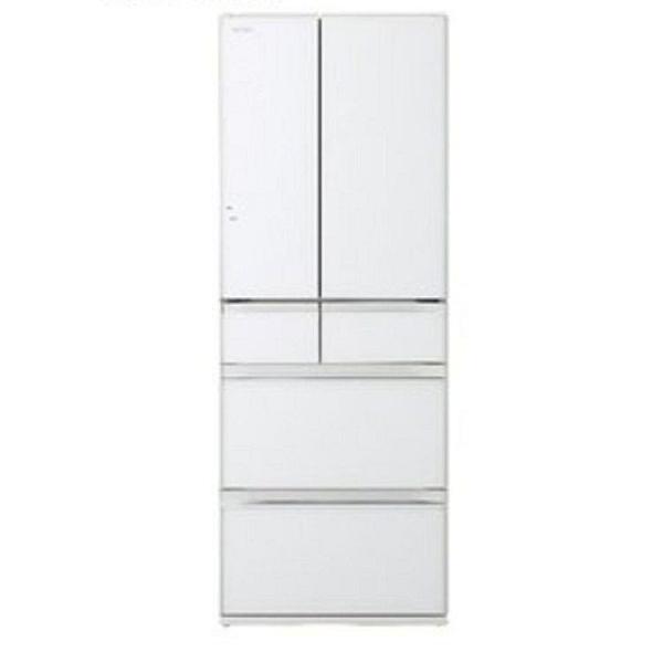 HITACHI 日立 日本原裝 607公升變頻六門電冰箱 RHW610NJ-XW 琉璃白