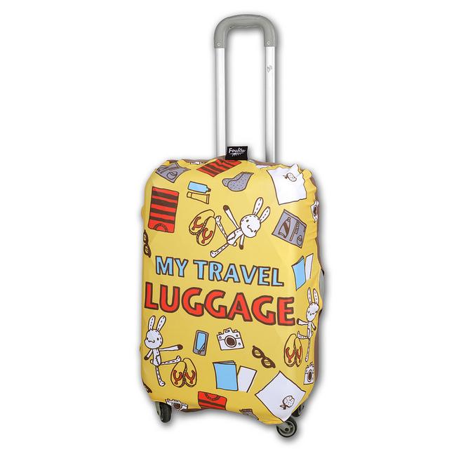 《Foufou》行李箱套 - My Travel Luggage(S)