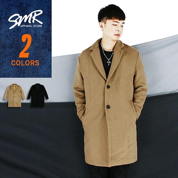 外套-韓風剪裁毛料大衣-型男穿搭款《9999693》共2色【現貨+預購】『RFD』