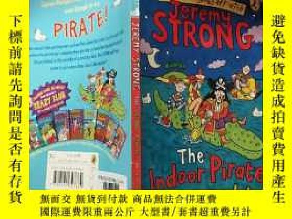二手書博民逛書店the罕見indoor pirates on treasure island 金 銀島上的室內海盜。Y2003