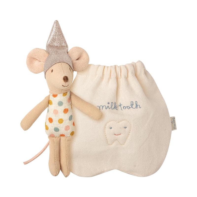 《Maileg》牙仙小鼠.女孩(附袋)