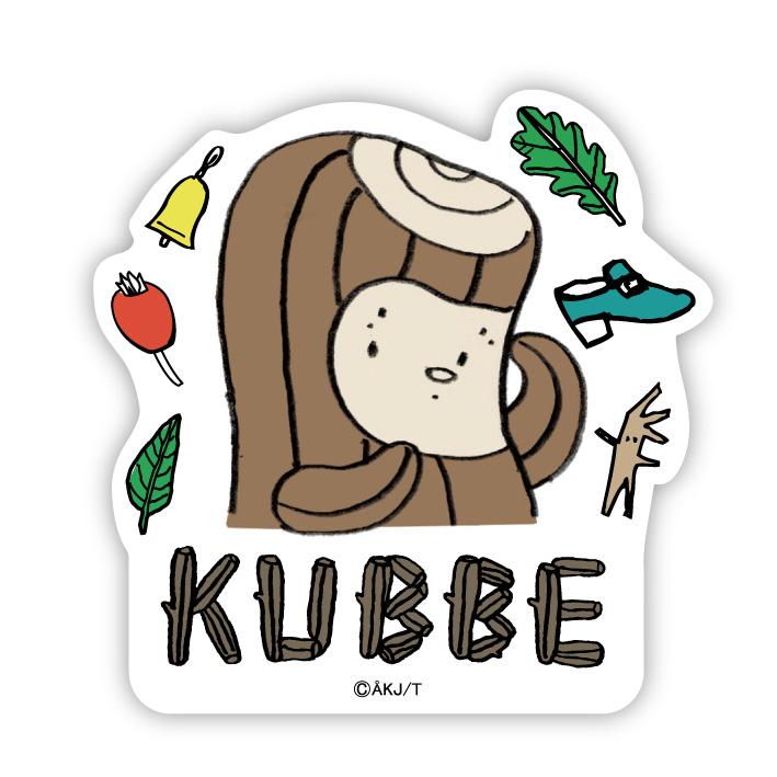 《酷比KUBBE》大貼紙-酷比與收藏