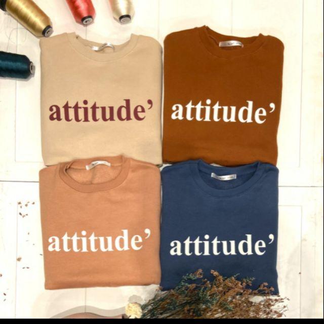 購入於shitgirl attitude蜜桃絨刷毛大學T