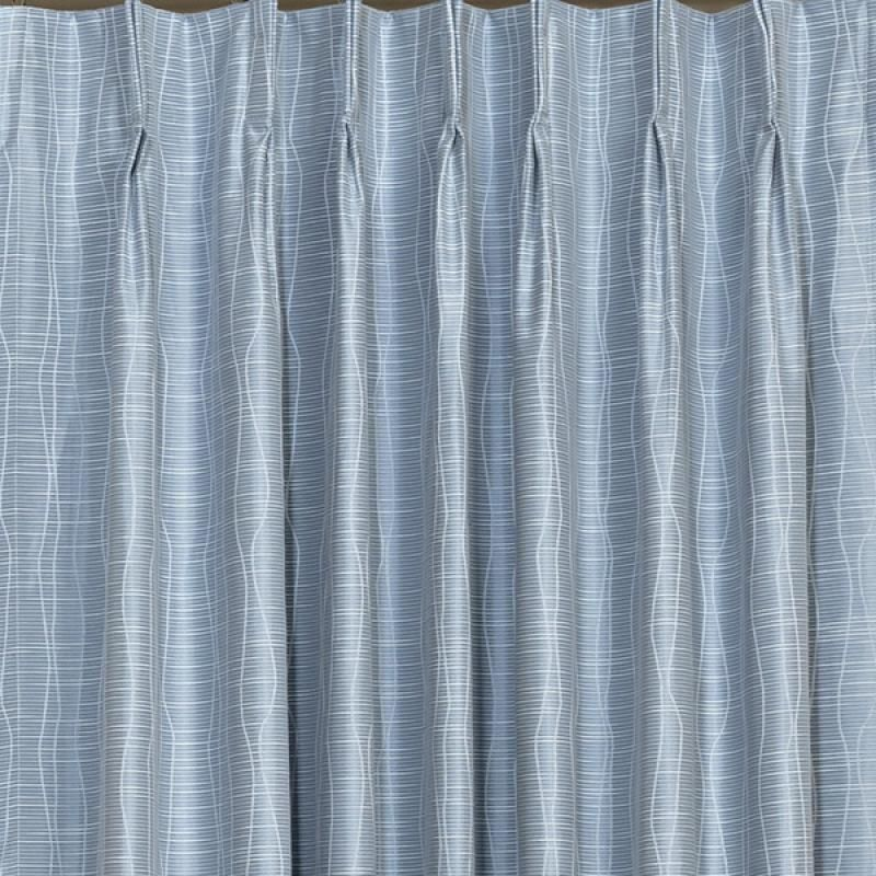 Bamboo Blockout Pinch Pleat Curtains