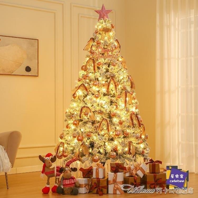 【快速出貨】聖誕樹 家用韓版聖誕樹套餐發光擺件1.8/1.5/3米聖誕裝飾場景裝飾 新年春節  送禮