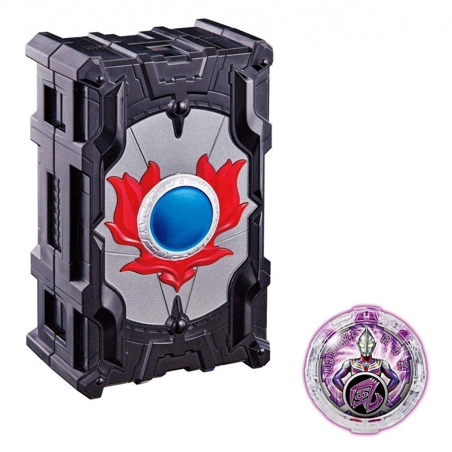 《超人力霸王》.DX.R/B羅布水晶收納夾