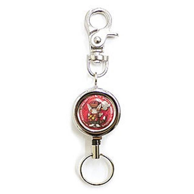 《Dayan 達洋貓》伸縮掛飾鑰匙圈-紅色房間