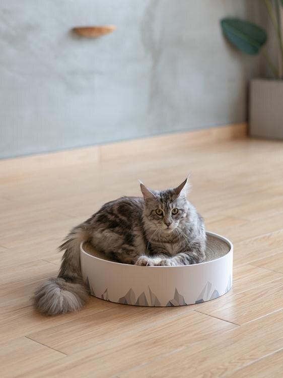 pidan山谷貓抓板磨爪器大瓦楞紙貓窩耐磨貓玩具貓抓板窩貓咪用品