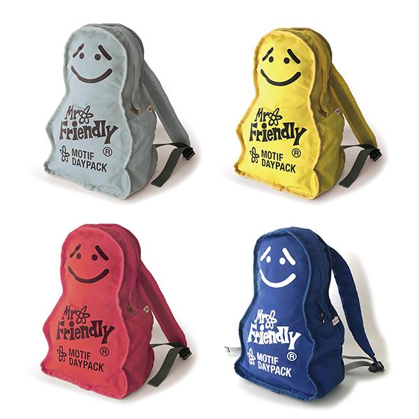 《Mr.Friendly》可愛人形後背包(共四款)