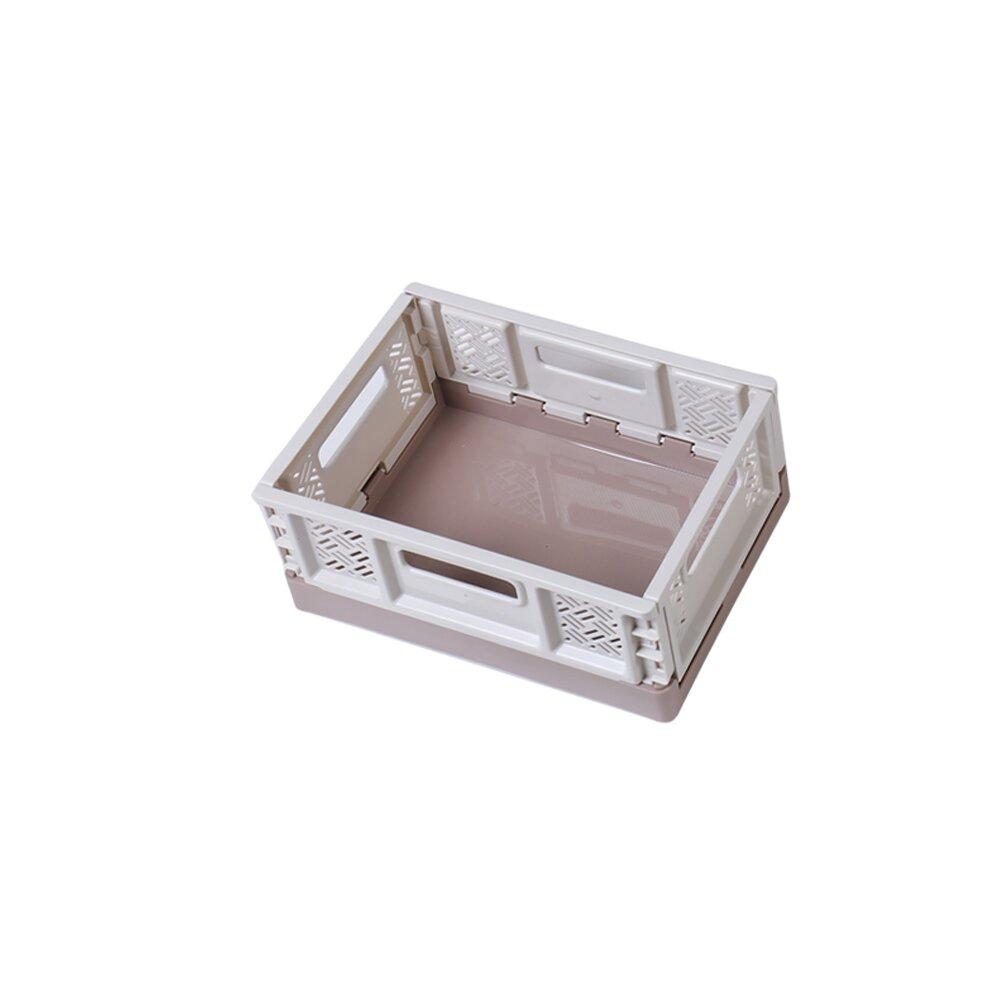 《真心良品》萊利桌上型摺疊籃5L-12入組