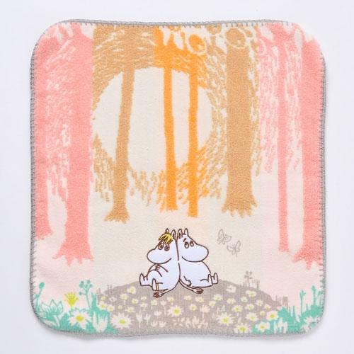 《Moomin》小方巾-溫暖的森林