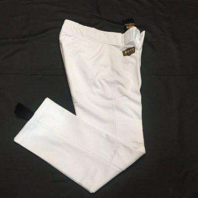 棒球世界全新 ZETT直統白色球褲優惠特價 570型下殺30  36腰