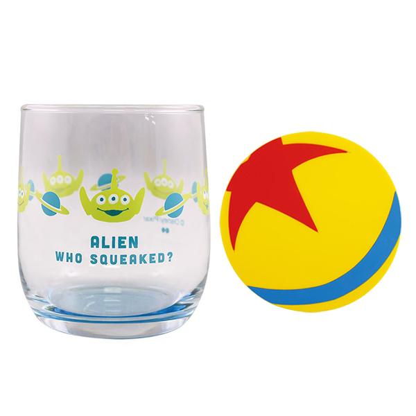 《Disney》玩具總動員玻璃杯墊組-三眼怪