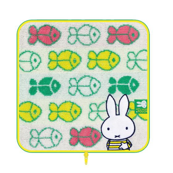 《Miffy》毛巾布收納包-魚