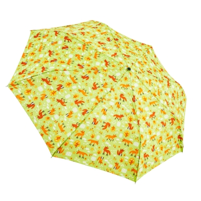 RAINSTORY稻荷秋園(綠)抗UV雙人自動傘