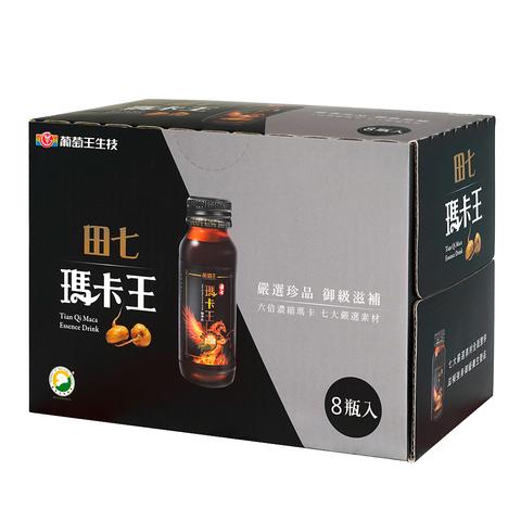 【熱銷口碑 6倍高濃縮 】田七瑪卡王 8瓶