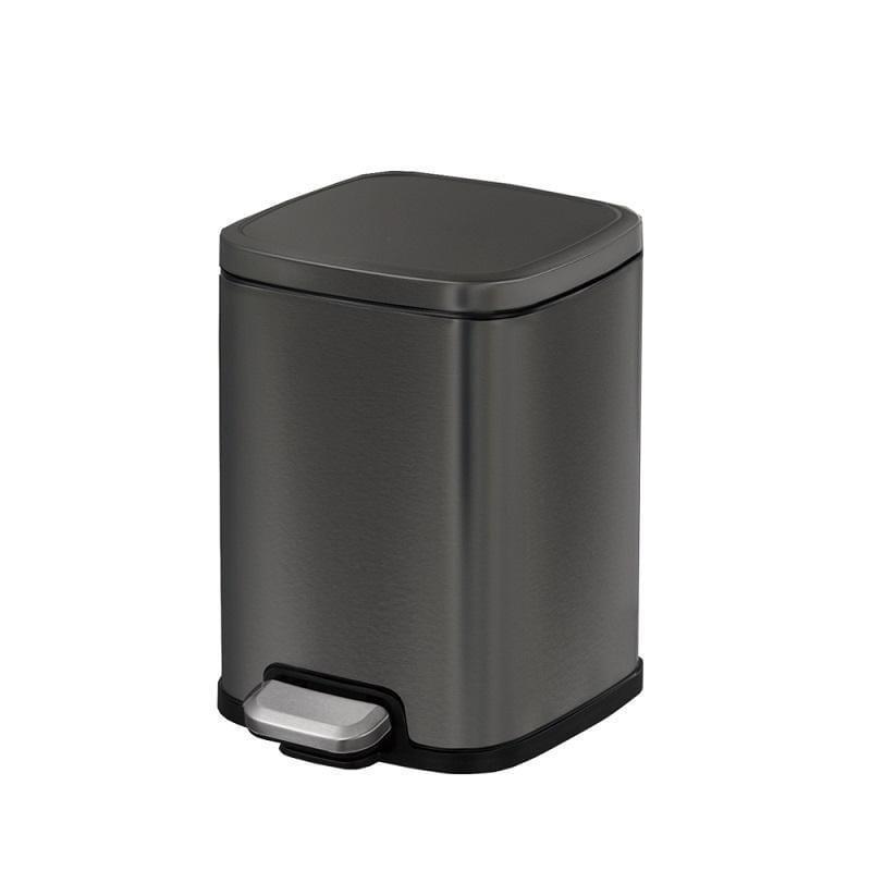 EKO 黛拉靜音垃圾桶 12L/亞光黑