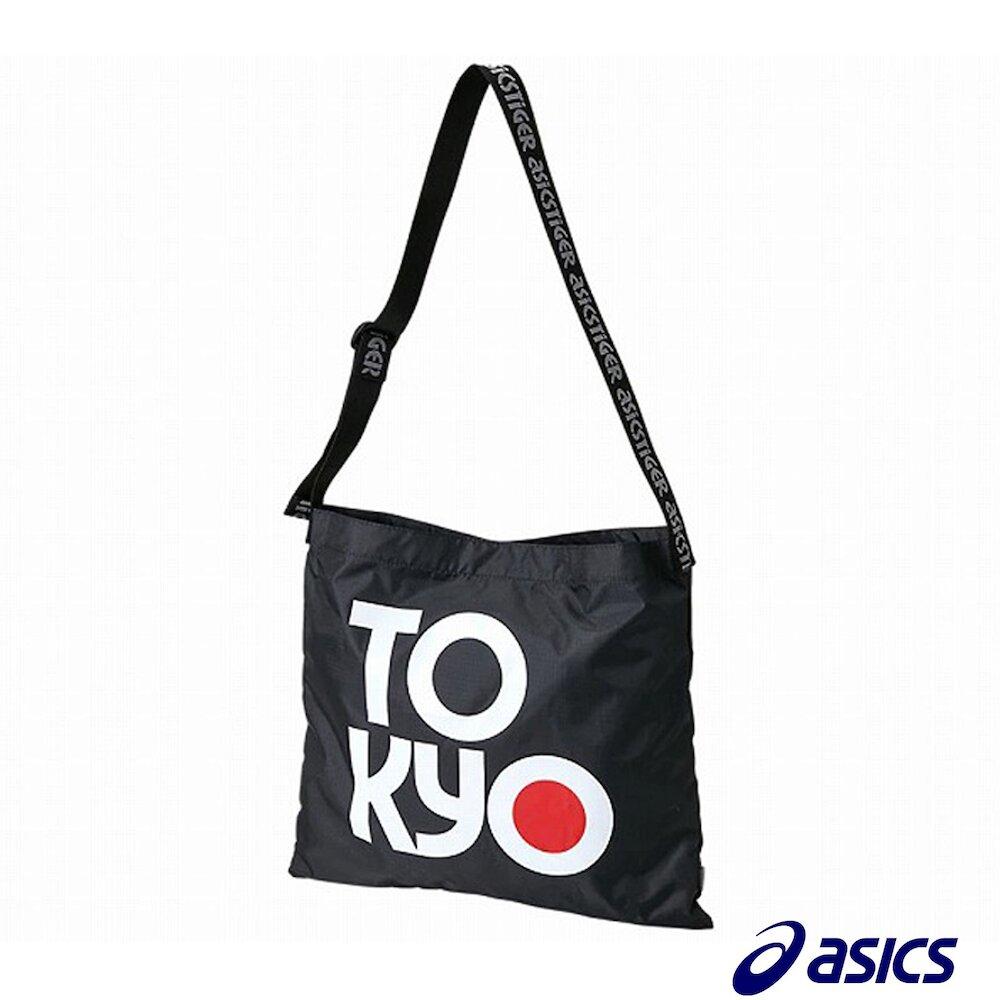 ASICS 托特包 Sports Moment Tote 男女款 亞瑟士 東京 TOKYO 外出 大容量 黑白紅 [3193A095003]