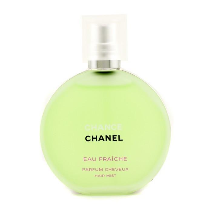 sw chanel 香奈兒-110chance綠色氣息隔離髮香霧 35ml -邂逅 綠色氣息護髮噴.