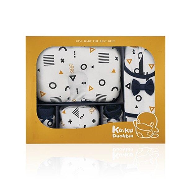 KUKU 酷咕鴨 純真之瞳包巾豪華禮盒-10件組【悅兒園婦幼生活館】